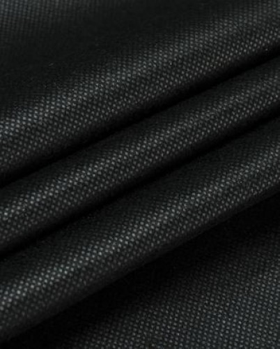 5145 Флизелин точечный 45г/м цв.черный 90см (в рул.200м)
