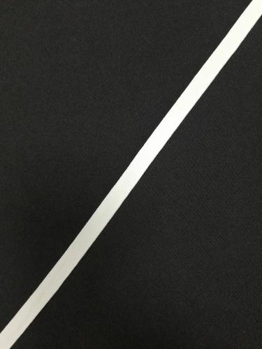 Репсовая лента матовая 10мм цв.белый(в рул.200м)