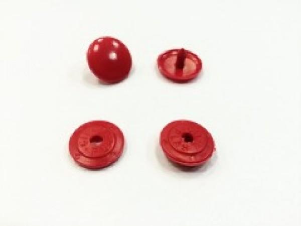 Кнопка пластиковая 10,5мм цв.красный(в упак.1000шт)