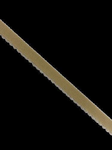 0200KPD Бельевая резинка 10мм цв.бежевый(в рул.100м)