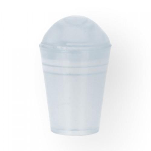 Концевик колокольчик пластиковый цв.прозрачный(в упак.1000шт)