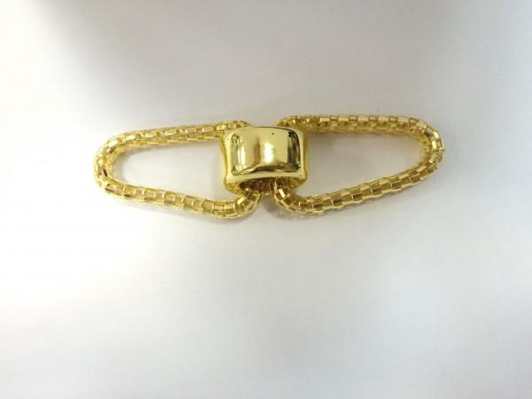 1002 Пряжка декоративная цв.золото(в упак.10шт)