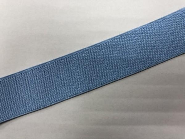 Резинка поясная 50мм цв.голубой(в рул.25м)