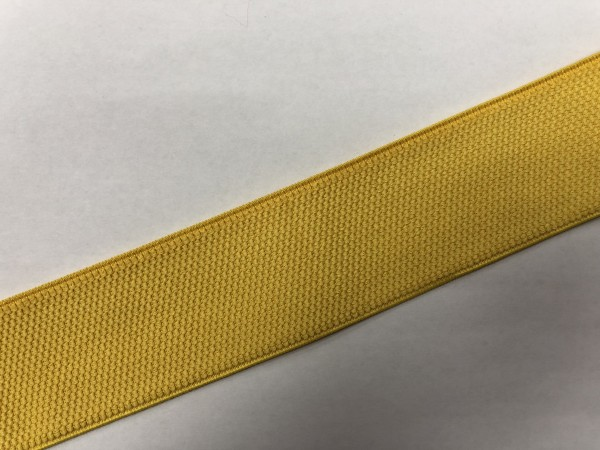 Резинка поясная 50мм цв.желтый(в рул.25м)