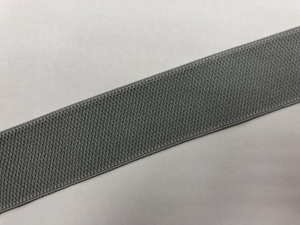 Резинка поясная 50мм цв.серый(в рул.25м)