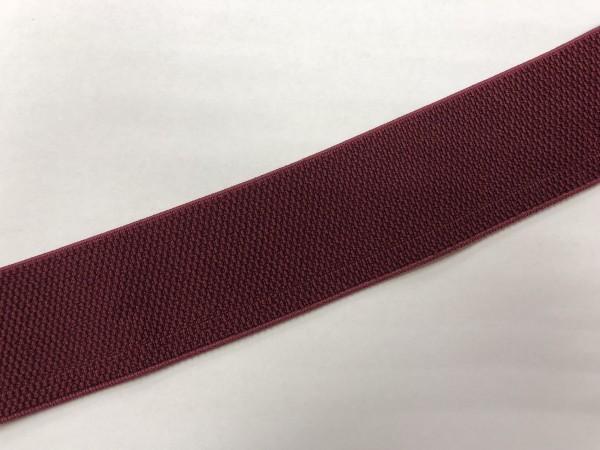 Резинка поясная 50мм цв.бордовый(в рул.25м)