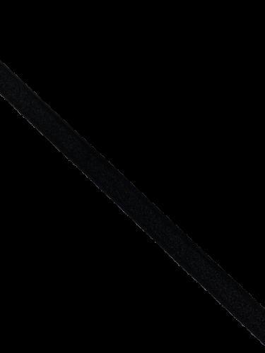 0102ASP Бельевая резинка 11мм цв.черный(в рул.100м)