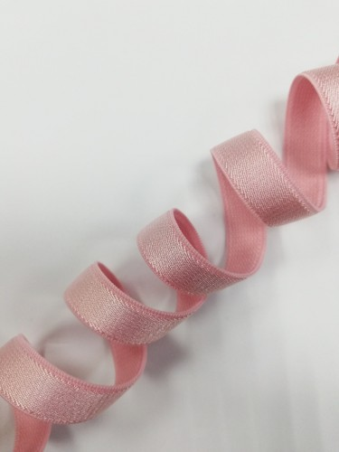 0102ASP Бельевая резинка 11мм цв.розовый(в рул.100м)