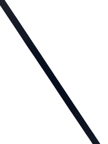 0102ASP Бельевая резинка 08мм цв.черный(в рул.100м)
