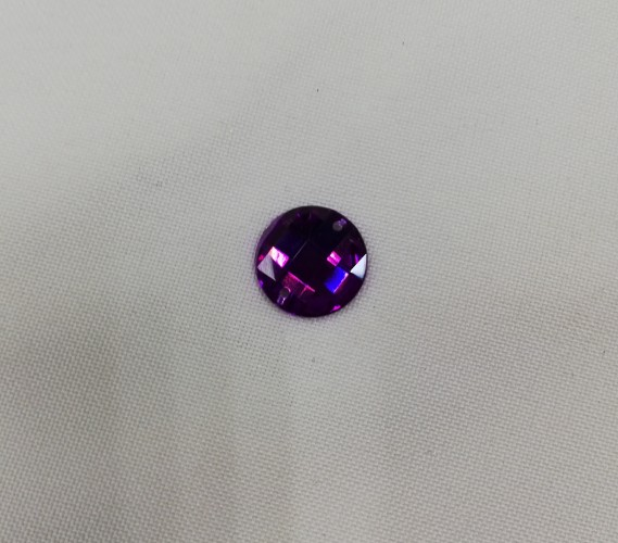 1855 Стразы кристальные пришивные круг 14мм Hematitel(в упак.720шт)