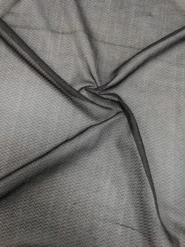J060/23 Дублерин трикотажный 55г/м точечный 150см цв.черный(в рул.100м)