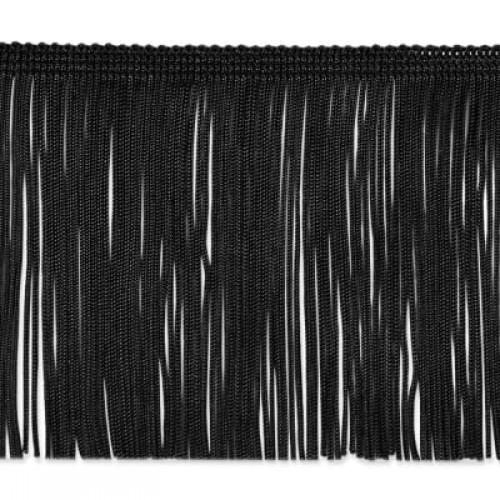 Бахрома 50см цв.черный(в упак.10м)