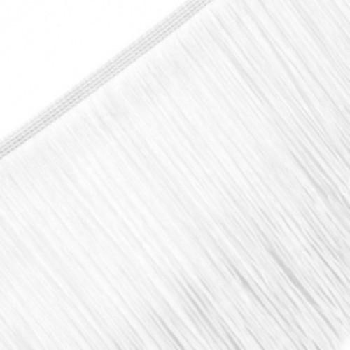 Бахрома 30см цв.белый(в упак.20м)