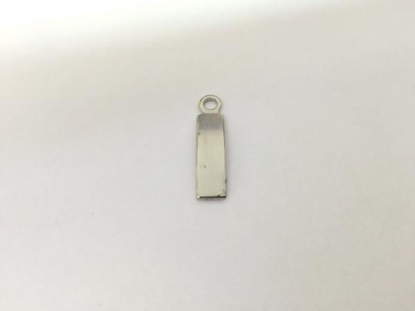 F119 пуллер декоративный цв.никель(в упак.500шт)