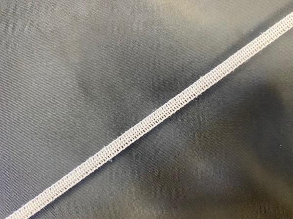 Резинка вязаная стандартная для масок 06мм цв.белый(в рул.5000м)Турция