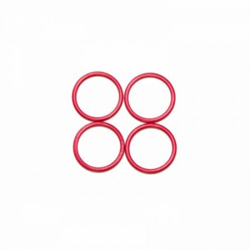 Бельевое кольцо регулировочное металлическое 12мм цв.красный(в упак.2000шт)