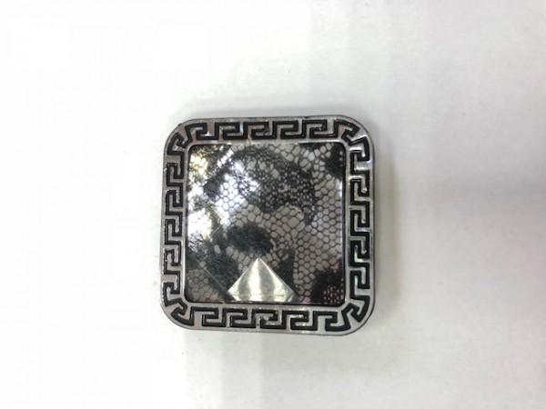 K01 Стразы декоративные пришивные Silver L-5(в упак.50шт)