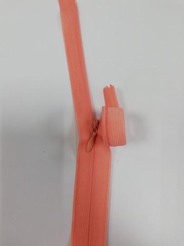 090С Молния потайная Т3 60см цв.персиковый(в упак.100шт) Китай