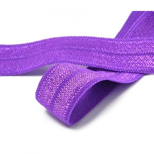 Резинка ажурная №35 цв.фиолетовый(в рул.50м)