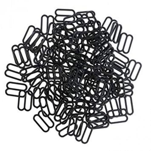 Бельевая рамка регулировочная пластиковая 15мм цв.черный(в упак.2000шт)