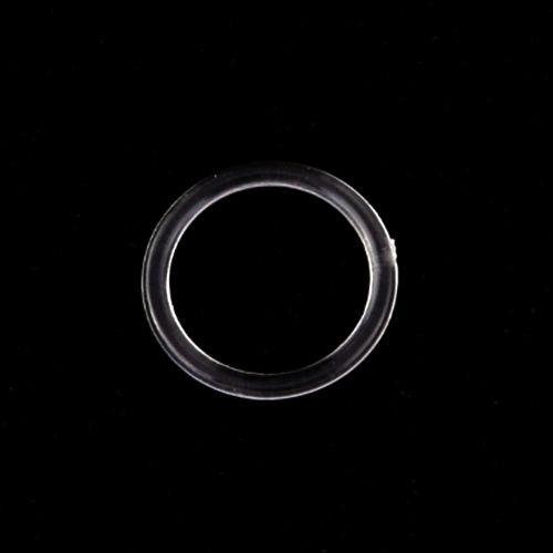 Бельевое кольцо регулировочное пластиковое 10мм цв.прозрачный(упак.2000шт)
