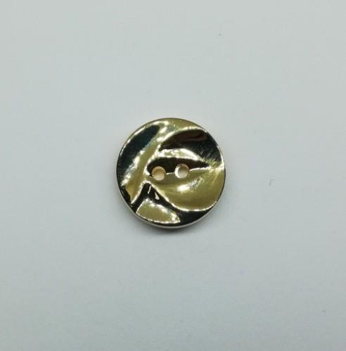 100409 Пуговица №28 18мм цв.золотой(в упак.100шт)