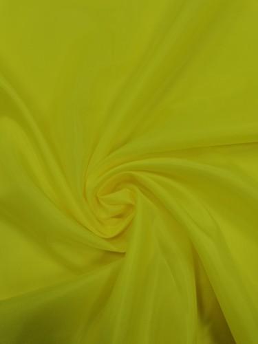 1027 Ткань подкладочная 190Т 100%ПЭ цв.желтый(в рул.100м)
