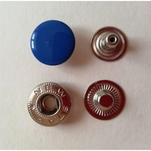 Кнопка стальная VT-2 9,5мм цв.василек(в упак.1440шт)