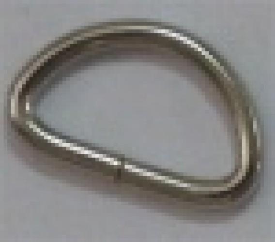 Полукольцо №751 3*14*15мм цв.никель(в упак.500шт)