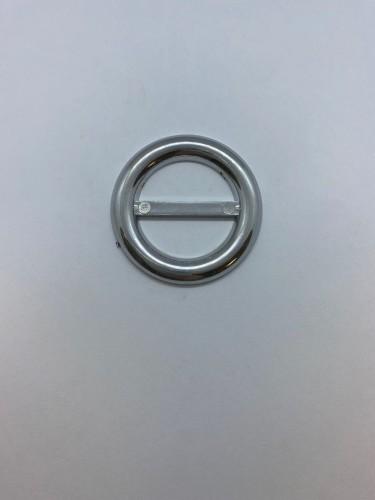 126ТКА Пряжка металлическая 3см цв.никель(в упак.500шт)