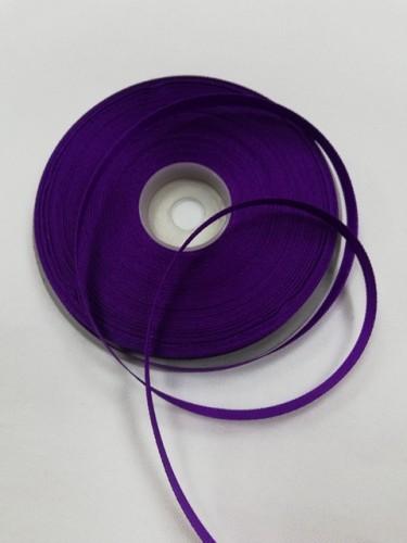 170(3118) Атласная лента 6мм цв.фиолетовый(в рул.32,9м)