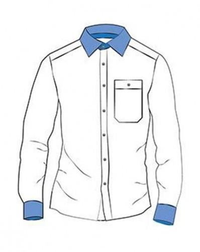 N171 Дублерин сорочечный хлопковый 171г/м сплошной 90см цв.белый(в рул.50м)
