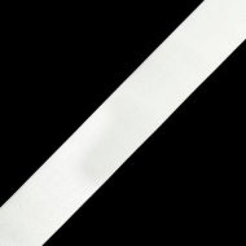 Резинка вязаная стандартная 040мм цв.белый(в рул.40м)
