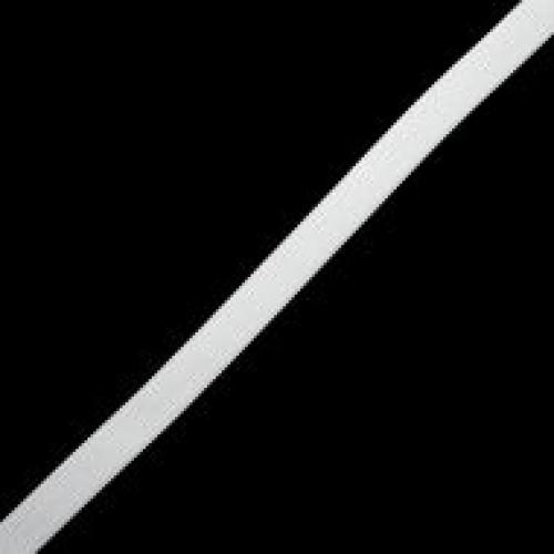 Резинка вязаная стандартная 015мм цв.белый(в рул.100м)