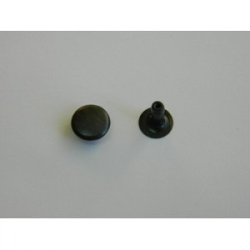 Хольнитен двухсторонний стальной 9*9мм цв.оксид(в упак.2000шт)