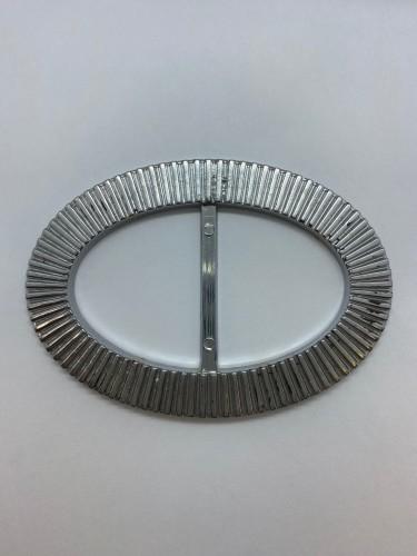 138AТКА Пряжка металлическая 4,5см цв.никель(в упак.500шт)