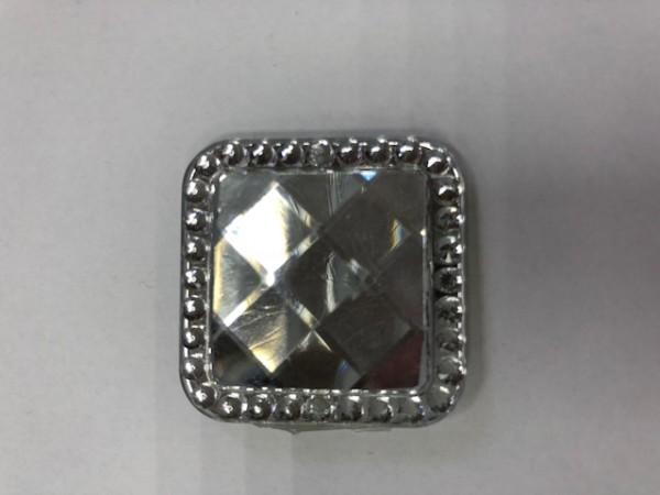 E01 Стразы декоративные пришивные Crystal(в упак.50шт)