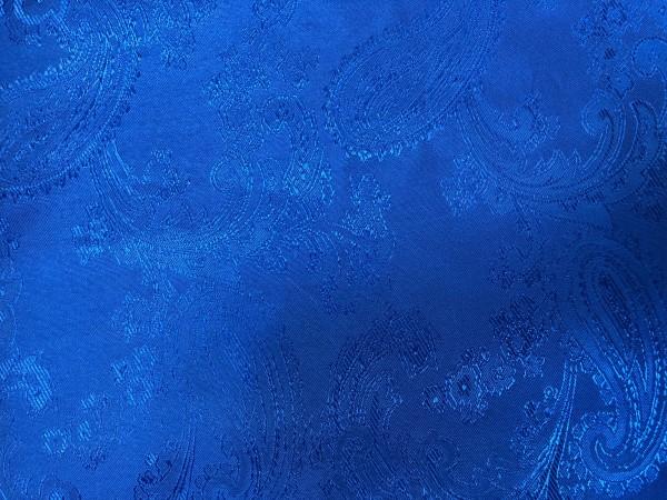 1 Ткань подкладочная жаккардовая огурчики 210Т 150см цв.василек(в рул.100м)