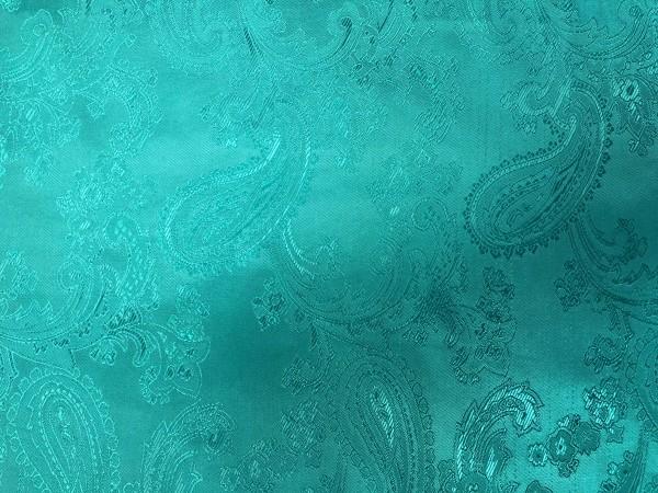 5 Ткань подкладочная жаккардовая огурчики 210Т 150см цв.зеленый(в рул.100м)