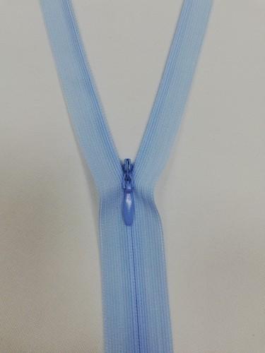 184 Молния потайная Т3 20см цв.голубой(в упак.100шт)