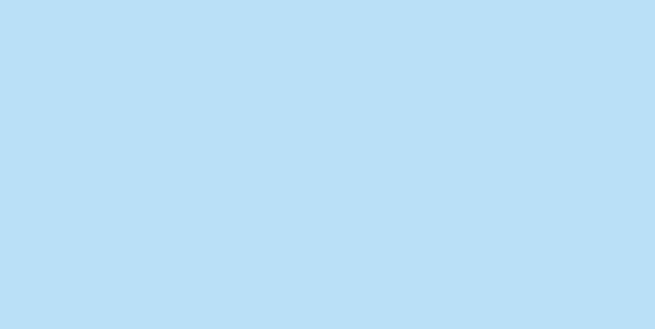 198 Молния потайная Т3 18см цв.голубой(в упак.100шт)