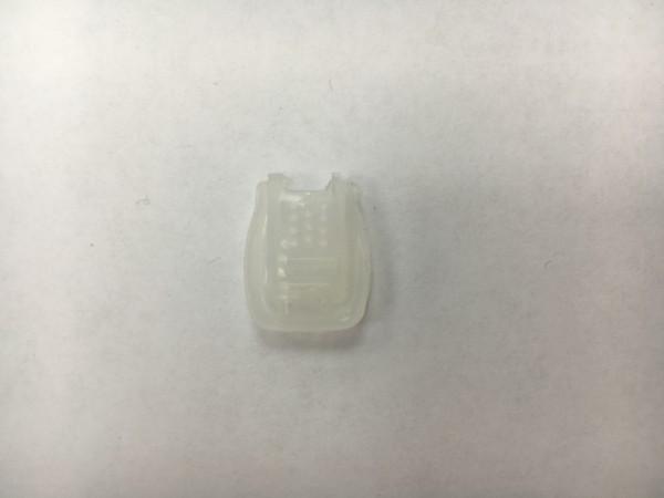 Концевик крокодил пластиковый цв.прозрачный(в упак.1000шт)