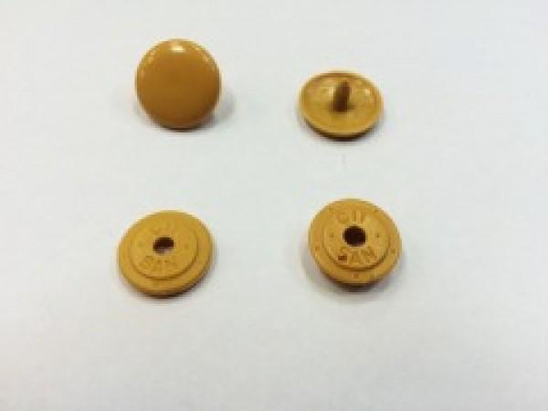 Кнопка пластиковая 15мм цв.бежевый(в упак.1000шт)