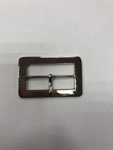 7829 Пряжка металлическая 4,5см цв.никель(в упак.100шт)