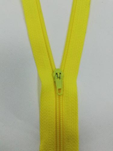 110 Молния спираль Т4 20см неразъемная цв.желтый(в упак.100шт)