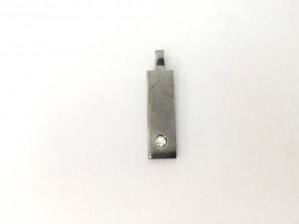 F121 пуллер декоративный цв.ч.никель(в упак.500шт)