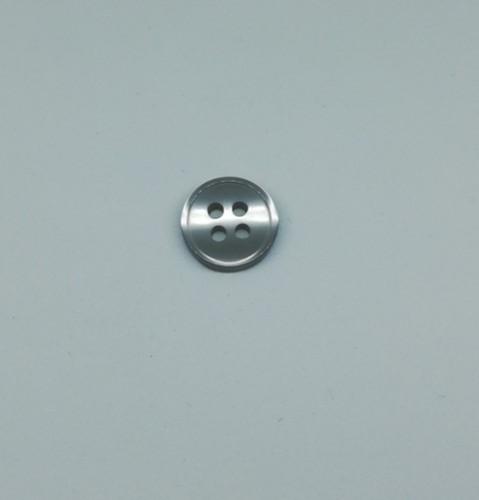 0104PMP Пуговица на 4 прокола №16 10мм цв.т.серый(в упак.5000шт,офис)