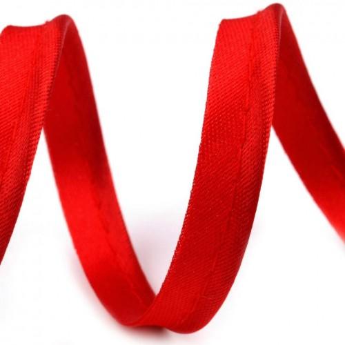 148 Кант атласный цв.красный(в рул.72 Yds)