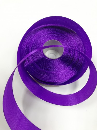 170 Атласная лента 25мм цв.фиолетовый(в рул.33м)