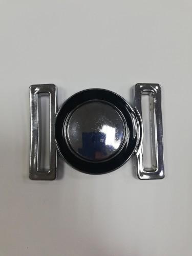 116ТКА Пряжка металлическая 5см цв.никель(в упак.500шт)